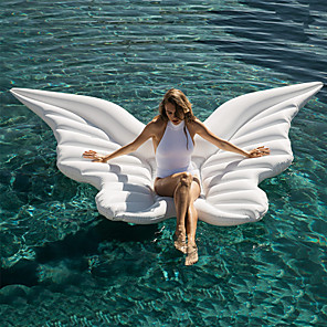 cheap Inflatable Ride-ons & Pool Floats-Inflatable Pool Float Water Lounge Floating PVC Summer Butterfly Angel Wings Holiday Swimming Pool Party Kid's Adults'