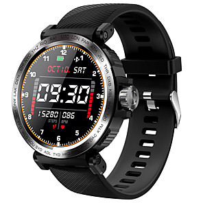 cheap Smart Wristbands-S18 Smartwatch for Android/ IOS/ Samsung Phones, Water Resistant Sports Tracker Support Heart Rate Monitor