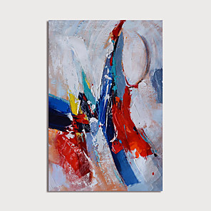 cheap Abstract Paintings-Hand-Painted Abstract Paintings Canvas Art  Painting Abstract Acrylic Painting Modern Art Textured Art  with Stretcher Ready to Hang With Stretched Frame