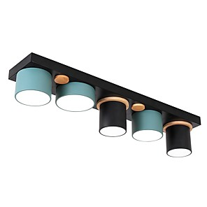 cheap Dimmable Ceiling Lights-5-Light 80 cm Cluster Design Flush Mount Lights Acrylic Modern 110-120V 220-240V