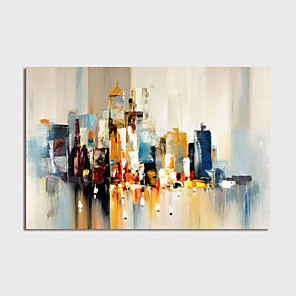 cheap Oil Paintings-Hand-Painted Abstract Painting Canvas Art  Painting Abstract Acrylic Painting Modern Art Textured Art  with Stretcher Ready to Hang With Stretched Frame