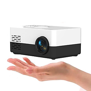 cheap Outdoor Speakers-Mini Projector J15 320*240 Pixels Supports 1080P HDMI USB Mini Beamer Home Media Player Kids Gift