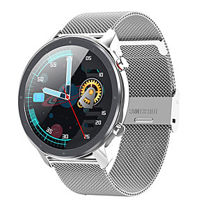 cheap Smartwatches-L17 Hybrid-face Smartwatch Support Bluetooth Music/ ECG, Bluetooth Fitness Tracker for IOS/Samsung/Android Phones