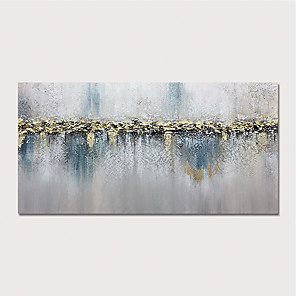 cheap Abstract Paintings-Oil Painting Paint Handmade Abstract Landscape Canvas Art Modern Art with Stretcher Ready to Hang With Stretched Frame