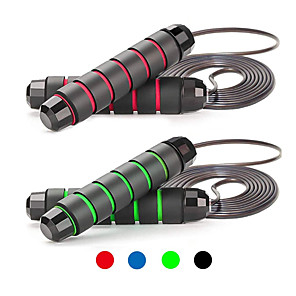 cheap Fitness Gear & Accessories-Jump Rope / Skipping Rope Sports PP EVA Fitness Gym Workout Calories Burned For Unisex