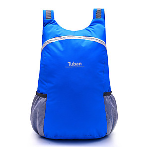 cheap Backpacks & Bags-Tuban 18 L Lightweight Packable Backpack Daypack Commuter Backpack Multifunctional Packable Waterproof Lightweight Outdoor Camping / Hiking Cycling / Bike 600D Polyester Blue Purple Red / Compact