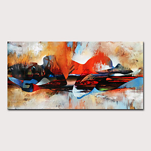 cheap Abstract Paintings-Mintura  Large Size Hand Painted Abstract Sleeping Buddha Landscape Oil Painting On Canvas Modern Pop Art Posters Wall Picture For Home Decoration No Framed Rolled Without Frame