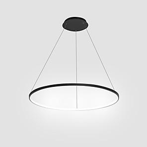 cheap Circle Design-1-Light Ecolight™ 40(16'') LED Pendant Light Metal Acrylic Circle Painted Finishes Modern Contemporary 110-120V / 220-240V