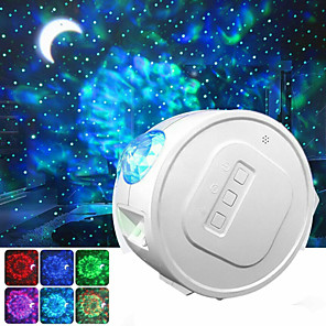 cheap Projectors-Star Sky Projector  LED Galaxy Night Light Moon Stars Nebula Ocean Lamp Galaxy Projector Rotation Light