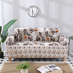 cheap Sofa Cover-Stretch Slipcover Sofa Cover Couch Cover Floral Printed Sofa Cover Stretch Couch Cover Sofa Slipcovers for 1~4 Cushion Couch with One Free Pillow Case
