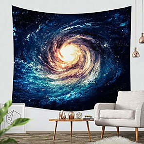 cheap Wall Tapestries-tapestry wall hanging galaxy tapestry universe space tapestry,mysterious nebula wall decoration for bedroom living room & #40;82x59 inches& #41;