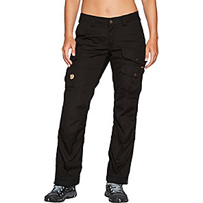 cheap Hiking Trousers & Shorts-, women's vidda pro trousers regular, black/black, 34