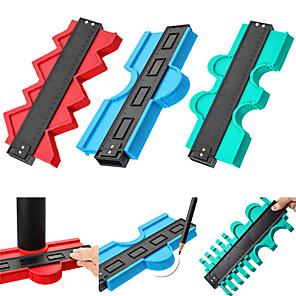 cheap Testers & Detectors-Contour Gauge Profile Gauge Tiling Laminate Tiles Edge Shaping Wood Measure Ruler ABS Contour Gauge Duplicator