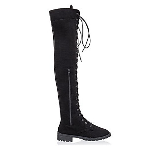 cheap Women's Boots-Women's Cosplay Boots Boots Over-The-Knee Boots Sexy Daily Winter Black / khaki / Green