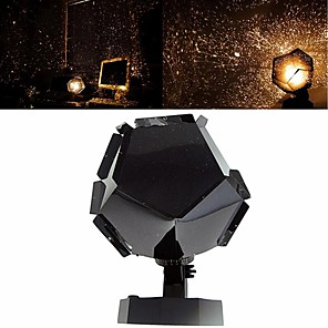 cheap Projectors-Romantic Planetarium Star Projector Galaxy Projector Night Light LED Projection Lamp For Home Planetarium Decoration Kids Bedroom Gift DIY Lights