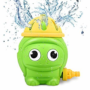 levne Nafukovací matrace-dětská hračka s postřikovačem na vodu, roztomilá želva, letní rotující postřikovač pro batolata na zahradě