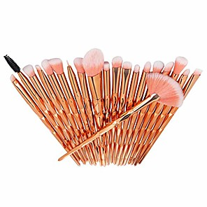 cheap Makeup Brush Sets-20 pcs/set makeup brush set eyeshadow fundation eyebrow blush brushes practical beauty cosmetic tool brushes kit