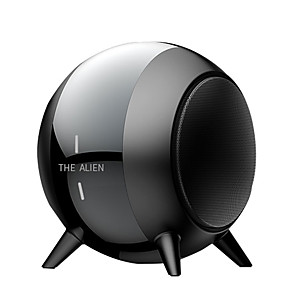cheap Portable Speakers-Y18 Bluetooth Speaker Portable Outdoor Loudspeaker Wireless Mini Spherical 3D 5W Stereo Music Surround FM Mp3 Bass Box