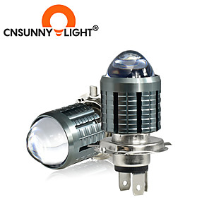 cheap Motorcycle Lighting-CNSUNNYLIGHT Super Bright Two-model Motorcycle LED Headlight  Foglight Auxiliary Spotlight Supports 2 colors Conversions Two Model To Choice H4 BA20D