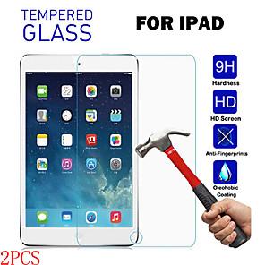 cheap iPad case-2PCS For iPad2 3 4 Pro9.7 11 12.9 Mini1 2 3 4 5 Air2 HD Transparent Anti-drop Anti-fingerprint Anti-scratch Tempered Glass Tablet Screen Protector
