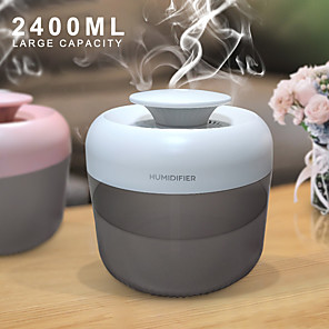 cheap Humidifiers-LITBest Humidifier 2.4L ABS White