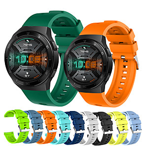 cheap Smartwatch Bands-Sport Silicone Watch Band for Huawei Watch GT 2e Replaceable Bracelet Wrist Strap Wristband