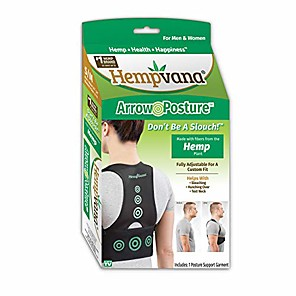 cheap Facial Care Devices-Fully Adjustable Posture Support Posture Corrector for Upper Body Helps Correct Slouching Text Neck and Hunching Over One Size