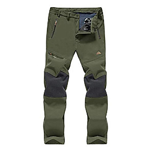 cheap Hiking Trousers & Shorts-fishing pants for men hiking pants mens waterproof pants skiing pants soft shell pants men fleece lined pants warm pants tactical pants men