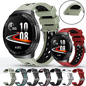 cheap Smartwatch Bands-Watch Band for Huawei Watch GT 2 / Huawei Watch GT 2e / Huawei Watch GT 2 46MM Huawei Sport Band / Classic Buckle Silicone Wrist Strap