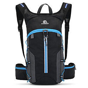 cheap Backpacks & Bags-Hydration Backpack Pack Lightweight Fast Dry Breathability Wearable Outdoor Fitness Camping Jogging Oxford Black / Orange Black Black / Blue