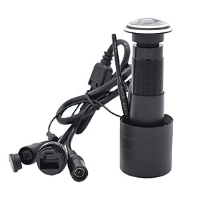 cheap Indoor IP Network Cameras-TF Card WIFI Audio Door Eye Hole Home 1080P 1.78mm Wide Angle FishEye Lens Network Mini Peephole wifi Door IP Camera P2P icsee