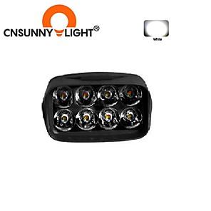 cheap OBD-CNSUNNYLIGHT Motorcycle 8 LED Headlight Fog Light 10W White Auto Bike Driving Work Spotlight Offroad Moto Lamp Accessories
