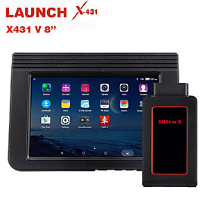 cheap Motorcycle Helmet Headsets-LAUNCH X431 V 8 Full ECU Diagnostic Tool with 15 reset bluetooth Wifi OBDII OBD2 Code reader Scanner 2 years free update