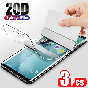 cheap Samsung Case-3PCS Hydrogel Film For Samsung Galaxy S8 S9 S10 Plus Screen Protector For Samsung Galaxy S10 S9 S10 lite S7 Edge Film Not Glas