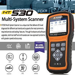 cheap Car Holder-Foxwell NT530 BMW Full System Scanner with SRS ABS EPB Oil Reset DPF SAS and Battery Registration Support BMW 2018/2019 F Chassis