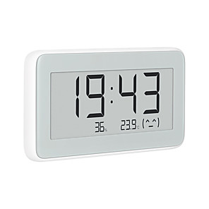 cheap Temperature Instruments-Xiaomi Mijia Indoor Outdoor Hygrometer Thermometer pro BT 4.0 Wireless Smart Electric Digital Clock LCD Temperature Measuring Tools