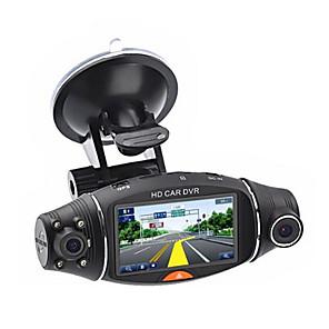 billige Bil-DVR-2.7 '' HD 1080P Dual Lens Car Camera Car DVR 140 Degree Front Rear Dash Cam Auto Recorder G-sensor Car Cam Recorder Night Vision