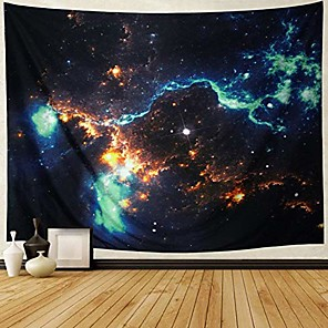 cheap Wall Tapestries-galaxy tapestry wall hanging landscape planet tapestry space tapestry moon tapestry milky way tapestry night starry sky tapestry universe tapestry trippy tapestry psychedelic wall art