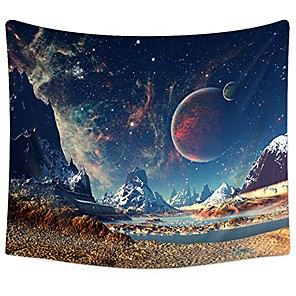 """cheap Wall Tapestries-tapestry wall hanging wall tapestry galaxy tapestry planet tapestry psychedelic tapestry vintage tapestry home decor(51.2""""x59.1"""", galaxy#2)"""