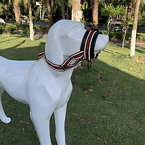 billige Hundeklær-hundepute med mykt stoff for små, mellomstore og store hunder, anti-bite, tygging, justerbar, pustende (m, svart)
