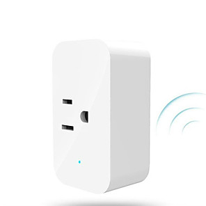 cheap Smart Plug-Smart Plug US WIFI Smart Plug for Living Room / Study / Bedroom Remote Monitoring / Voice Control / WIFI Control WIFI 100-240 V