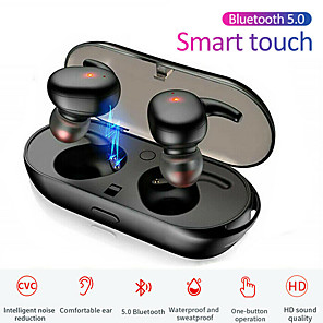 cheap Gaming Headsets-LITBest TWS Bluetooth 5.0 Headphones Mini Wireless Earphone Touch Control Waterproof  Stereo Sport Earbuds headset Microphone For Android and IOS