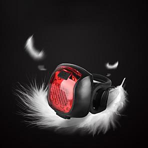 povoljno Baterijske svjetiljke-LED Svjetla za bicikle Stražnje svjetlo za bicikl sigurnosna svjetla LED Brdski biciklizam Bicikl Biciklizam Vodootporno Višestruka načina Super Bright Prijenosno 20 lm Može se puniti USB Crveno