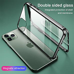 cheap Dog Clothes-Magnetic Case for Apple iPhone 11 iPhone XR Double sided Glass 360 Protection Clear Protective Case Metal Magnet Adsorption Mobile Phone Case for iPhone SE2020 11Pro Max XSMax XS X 8 Plus 7 Plus