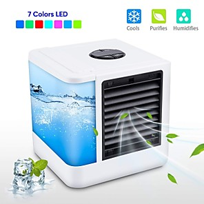cheap Humidifiers-Mini Air Cooler Air Personal Space Cooler The Quick & Easy Way to Cool Any Space Air Conditioner Air Cooling Fan for Office Room