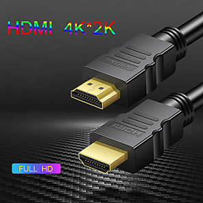 cheap HDMI Cables-HDMI Cable 4K HDMI to HDMI Cable HDMI 2.0 Cable for PS4 TV Switch Box Splitter 4K *2K Ultra HD HDMI Cable Video 1M 3M 5 M