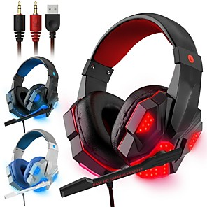 cheap Gaming Headsets-LITBest 830  Gaming Headset with Mic Led Light Gamer Headset   Over Ear Headset with Surround Sound Gamer Headset
