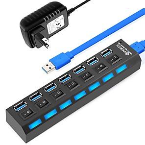 Χαμηλού Κόστους Διανομείς & ΔιακόπτεςUSB-LITBest HUB-11 USB 3.0 to USB 3.0 USB Hub 7 Λιμάνια με Ανεξάρτητους Διακόπτες