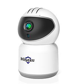 cheap Indoor IP Network Cameras-Hiseeu 1080P Wireless IP Camera WIFI 2MP 3MP Ultral HD CCTV Camera Mini Network Video Surveillance Auto Tracking Camera 1536P