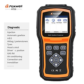 cheap OBD-Foxwell NT530 BMW Full System Scanner with SRS  ABS EPB Oil Reset DPF SAS and Battery Registration Support BMW 2018/2019  F Chassis